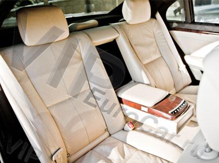 Арендовать Mercedes W221 с белым салоном