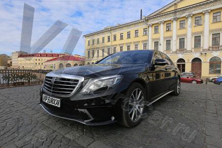 Аренда Mercedes W222
