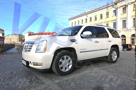 Арендовать белый Cadillac Escalade